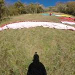 Chalais - ailes au decollage - S. Perot