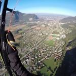 Chalais - vue sur Voreppe et terrain rugby - S. Perot